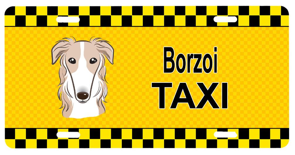 Buy this Borzoi Taxi License Plate BB1352LP
