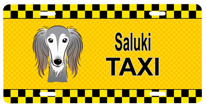 Buy this Saluki Taxi License Plate BB1353LP