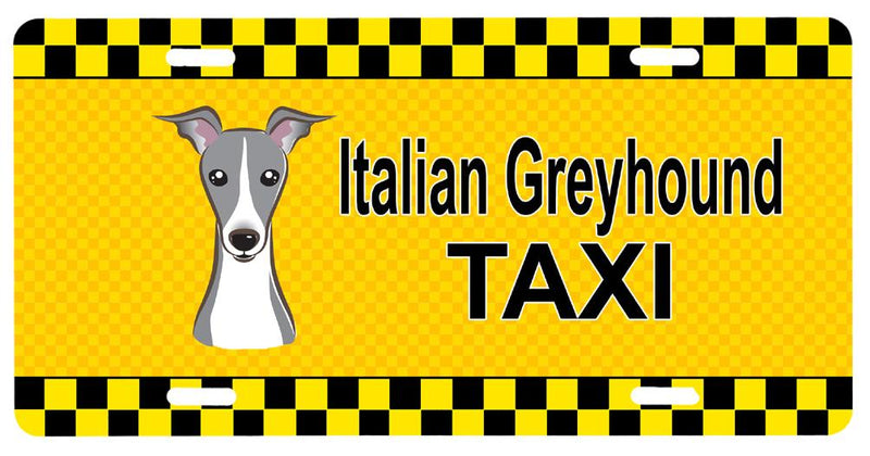 Buy this Italian Greyhound Taxi License Plate BB1360LP