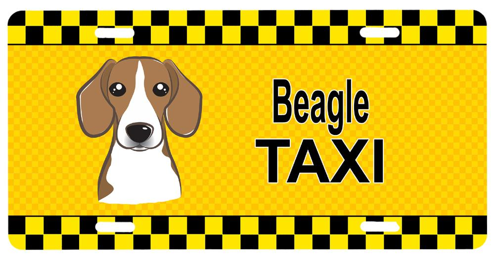 Buy this Beagle Taxi License Plate BB1363LP