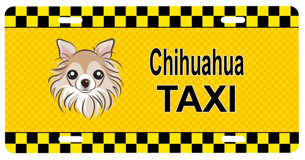 Buy this Chihuahua Taxi License Plate BB1375LP