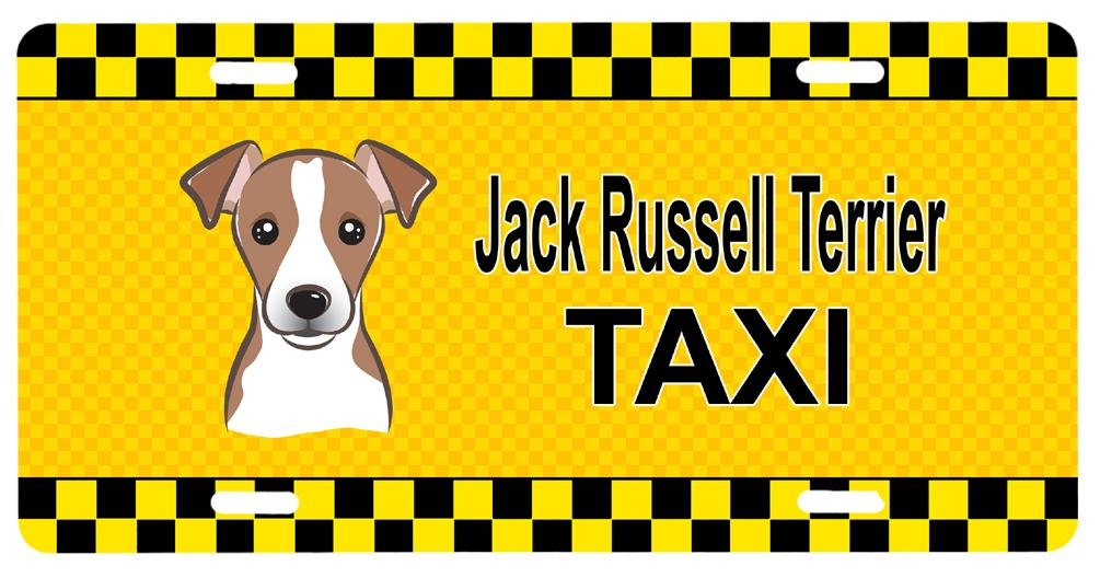 Buy this Jack Russell Terrier Taxi License Plate BB1384LP