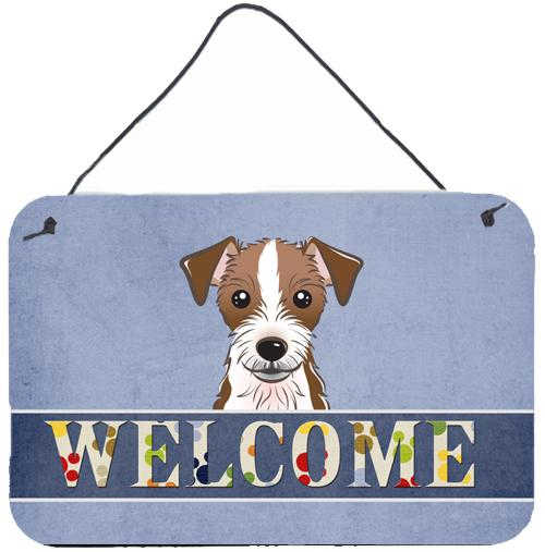 Buy this Jack Russell Terrier Welcome Wall or Door Hanging Prints BB1388DS812