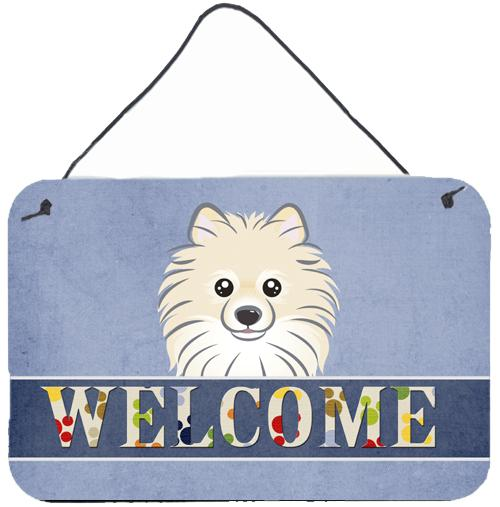 Buy this Pomeranian Welcome Wall or Door Hanging Prints BB1393DS812