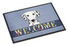 Dalmatian Welcome Indoor or Outdoor Mat 18x27 BB1396MAT - the-store.com