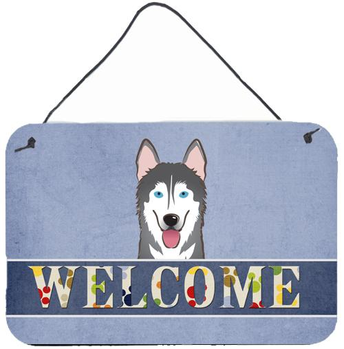 Buy this Alaskan Malamute Welcome Wall or Door Hanging Prints BB1404DS812