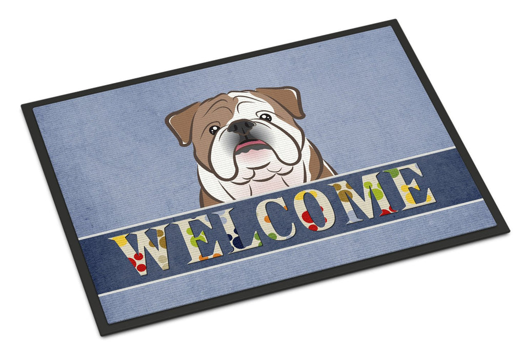 Buy this English Bulldog  Welcome Indoor or Outdoor Mat 18x27 BB1405MAT