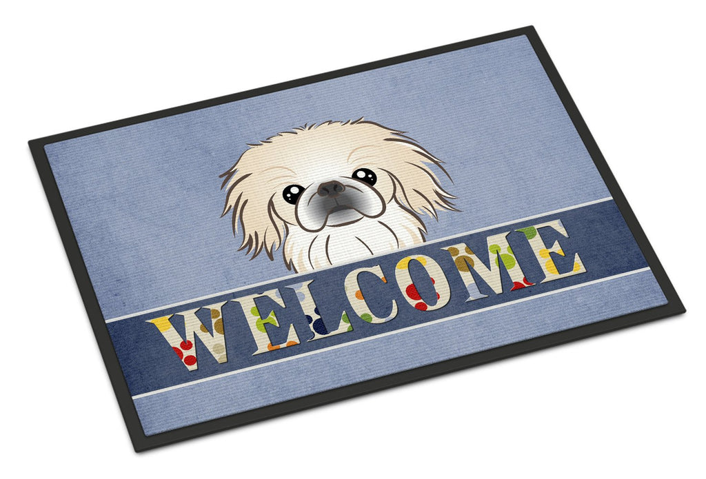 Buy this Pekingese Welcome Indoor or Outdoor Mat 18x27 BB1407MAT