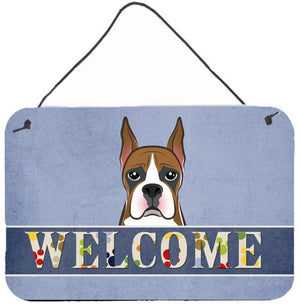 Buy this Boxer Welcome Wall or Door Hanging Prints BB1409DS812
