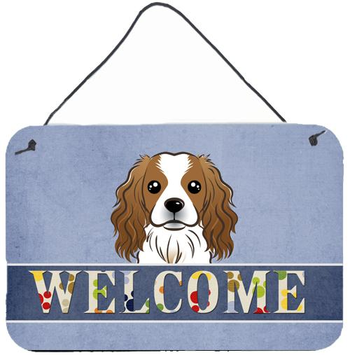 Buy this Cavalier Spaniel Welcome Wall or Door Hanging Prints BB1410DS812