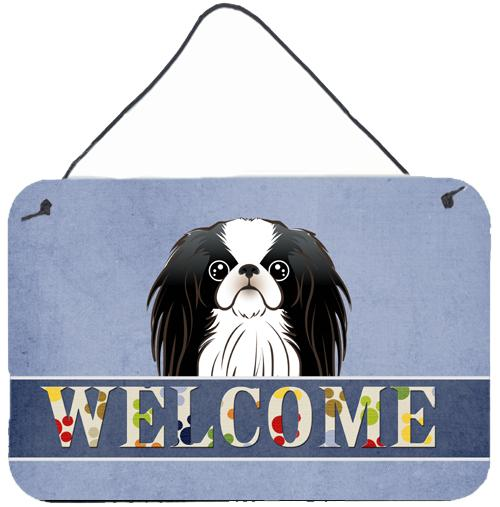 Japanese Chin Welcome Wall or Door Hanging Prints BB1416DS812 by Caroline's Treasures
