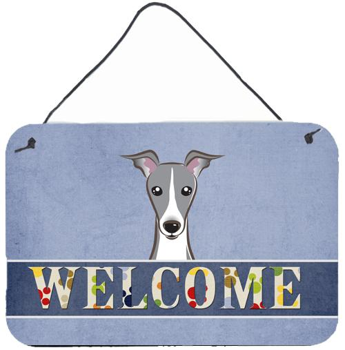 Buy this Italian Greyhound Welcome Wall or Door Hanging Prints BB1422DS812
