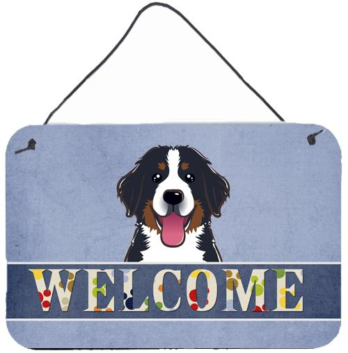Buy this Bernese Mountain Dog Welcome Wall or Door Hanging Prints BB1423DS812