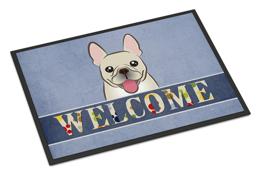 Buy this French Bulldog Welcome Indoor or Outdoor Mat 18x27 BB1424MAT