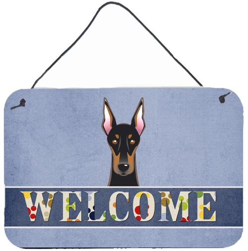 Buy this Doberman Welcome Wall or Door Hanging Prints BB1431DS812