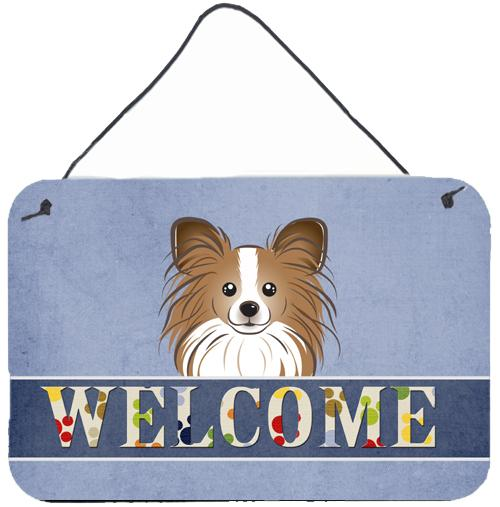 Buy this Papillon Welcome Wall or Door Hanging Prints BB1434DS812