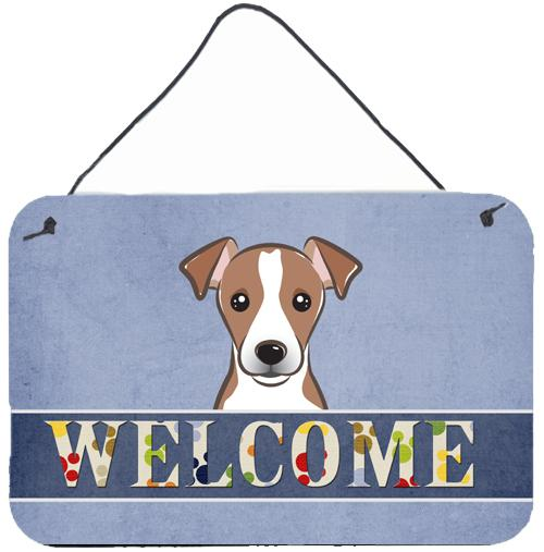 Buy this Jack Russell Terrier Welcome Wall or Door Hanging Prints BB1446DS812