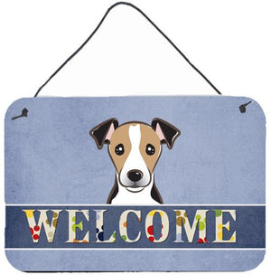 Buy this Jack Russell Terrier Welcome Wall or Door Hanging Prints BB1447DS812
