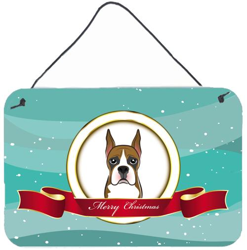 Buy this Boxer Merry Christmas Wall or Door Hanging Prints BB1533DS812