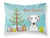 Buy this Christmas Tree and Dalmatian Fabric Standard Pillowcase BB1582PILLOWCASE