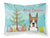 Buy this Christmas Tree and Boxer Fabric Standard Pillowcase BB1595PILLOWCASE