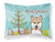 Buy this Christmas Tree and Shiba Inu Fabric Standard Pillowcase BB1597PILLOWCASE
