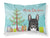 Buy this Christmas Tree and French Bulldog Fabric Standard Pillowcase BB1599PILLOWCASE