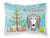 Buy this Christmas Tree and Saluki Fabric Standard Pillowcase BB1601PILLOWCASE