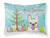 Buy this Christmas Tree and French Bulldog Fabric Standard Pillowcase BB1610PILLOWCASE