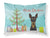 Buy this Christmas Tree and Min Pin Fabric Standard Pillowcase BB1612PILLOWCASE