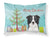 Buy this Christmas Tree and Border Collie Fabric Standard Pillowcase BB1613PILLOWCASE