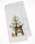 Buy this Christmas Tree and Sheltie White Kitchen Towel Set of 2 BB1614WTKT