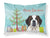 Buy this Christmas Tree and Saint Bernard Fabric Standard Pillowcase BB1618PILLOWCASE