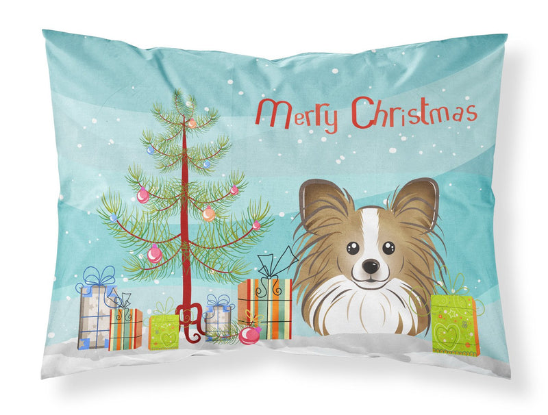 Buy this Christmas Tree and Papillon Fabric Standard Pillowcase BB1620PILLOWCASE