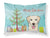 Buy this Christmas Tree and Golden Retriever Fabric Standard Pillowcase BB1624PILLOWCASE