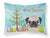 Buy this Christmas Tree and Fawn Pug Fabric Standard Pillowcase BB1634PILLOWCASE