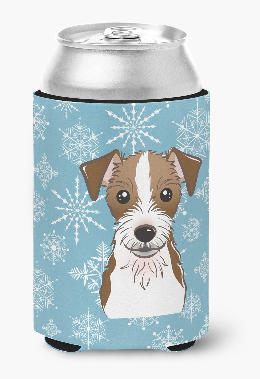 Snowflake Jack Russell Terrier Can or Bottle Hugger BB1636CC by Caroline's Treasures