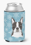 Buy this Snowflake Boston Terrier Can or Bottle Hugger BB1637CC