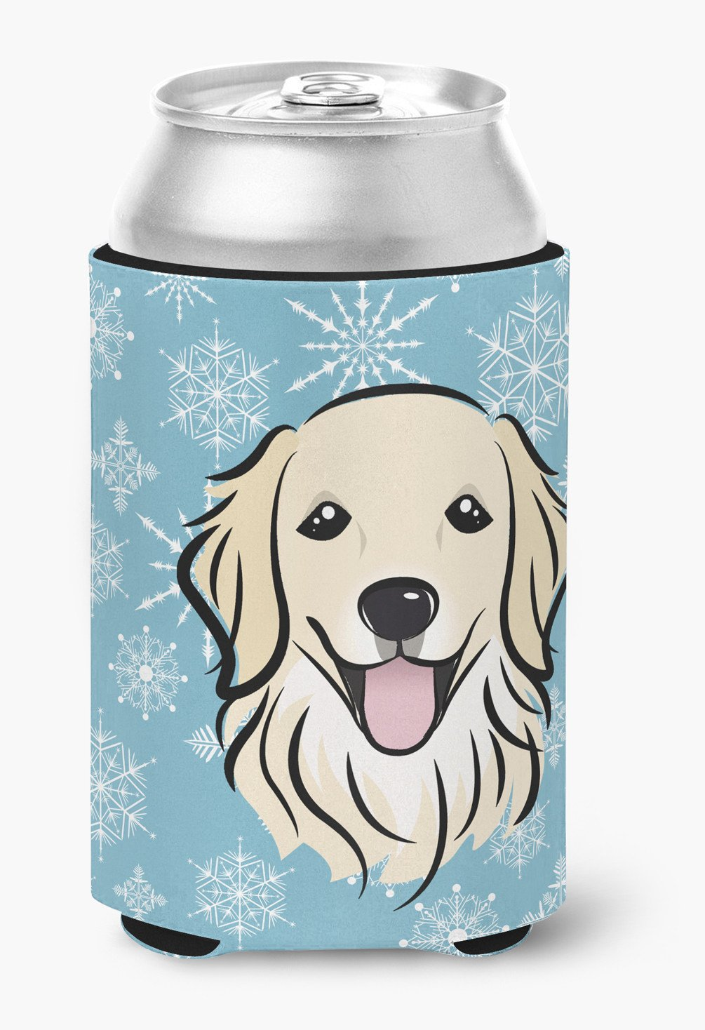 Snowflake Golden Retriever Can or Bottle Hugger BB1639CC by Caroline's Treasures