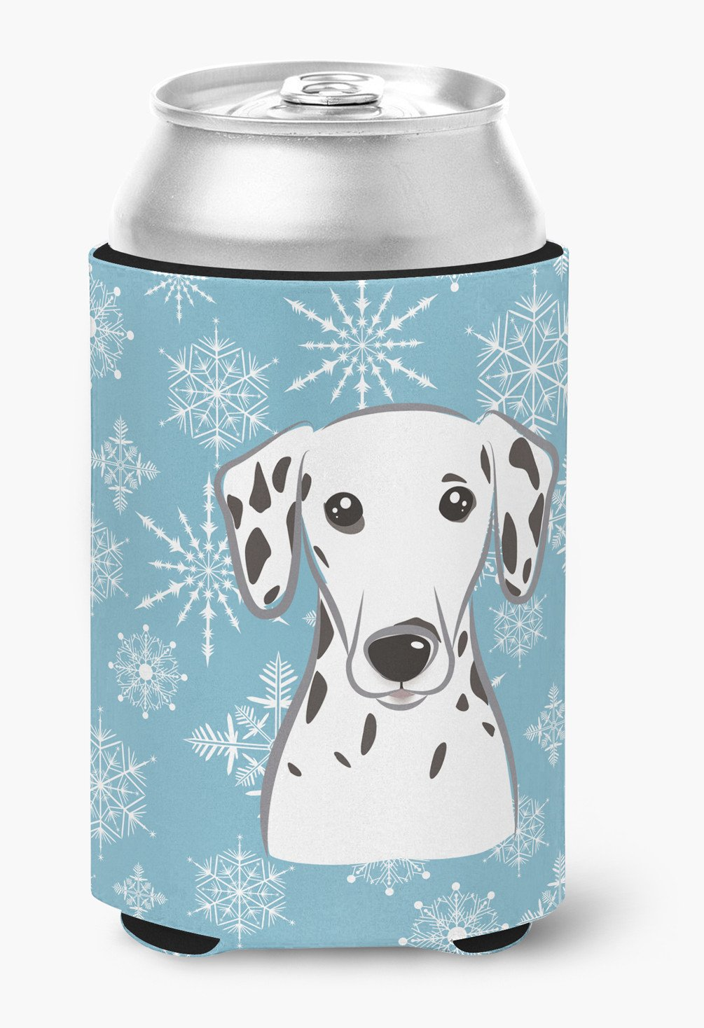 Snowflake Dalmatian Can or Bottle Hugger BB1644CC by Caroline's Treasures