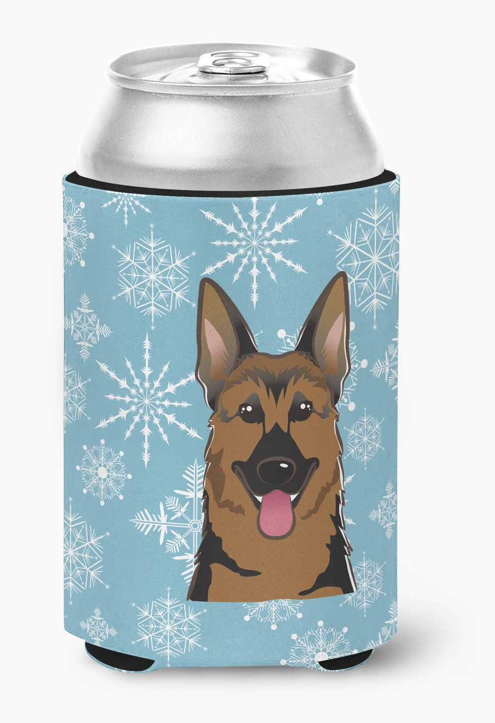 Snowflake German Shepherd Can or Bottle Hugger BB1645CC by Caroline's Treasures