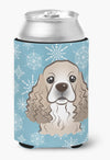 Buy this Snowflake Cocker Spaniel Can or Bottle Hugger BB1650CC