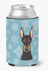 Snowflake Doberman Can or Bottle Hugger BB1679CC by Caroline's Treasures