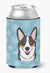 Snowflake Tricolor Corgi Can or Bottle Hugger BB1689CC by Caroline's Treasures