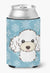 Snowflake White Poodle Can or Bottle Hugger BB1691CC by Caroline's Treasures