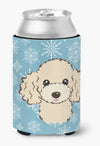 Buy this Snowflake Buff Poodle Can or Bottle Hugger BB1692CC