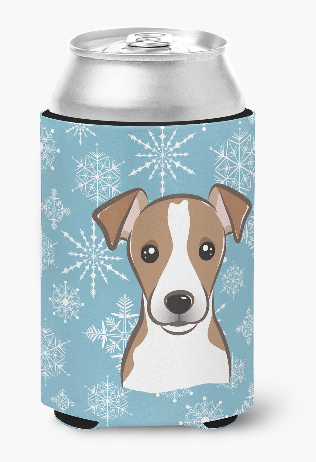 Snowflake Jack Russell Terrier Can or Bottle Hugger BB1694CC by Caroline's Treasures