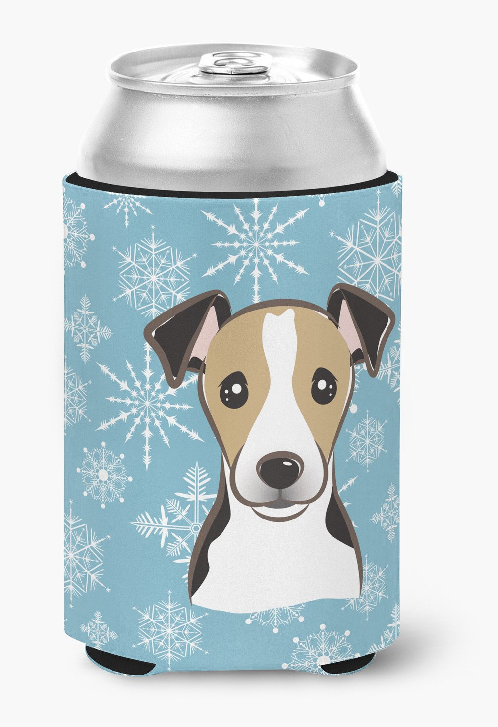 Snowflake Jack Russell Terrier Can or Bottle Hugger BB1695CC by Caroline's Treasures