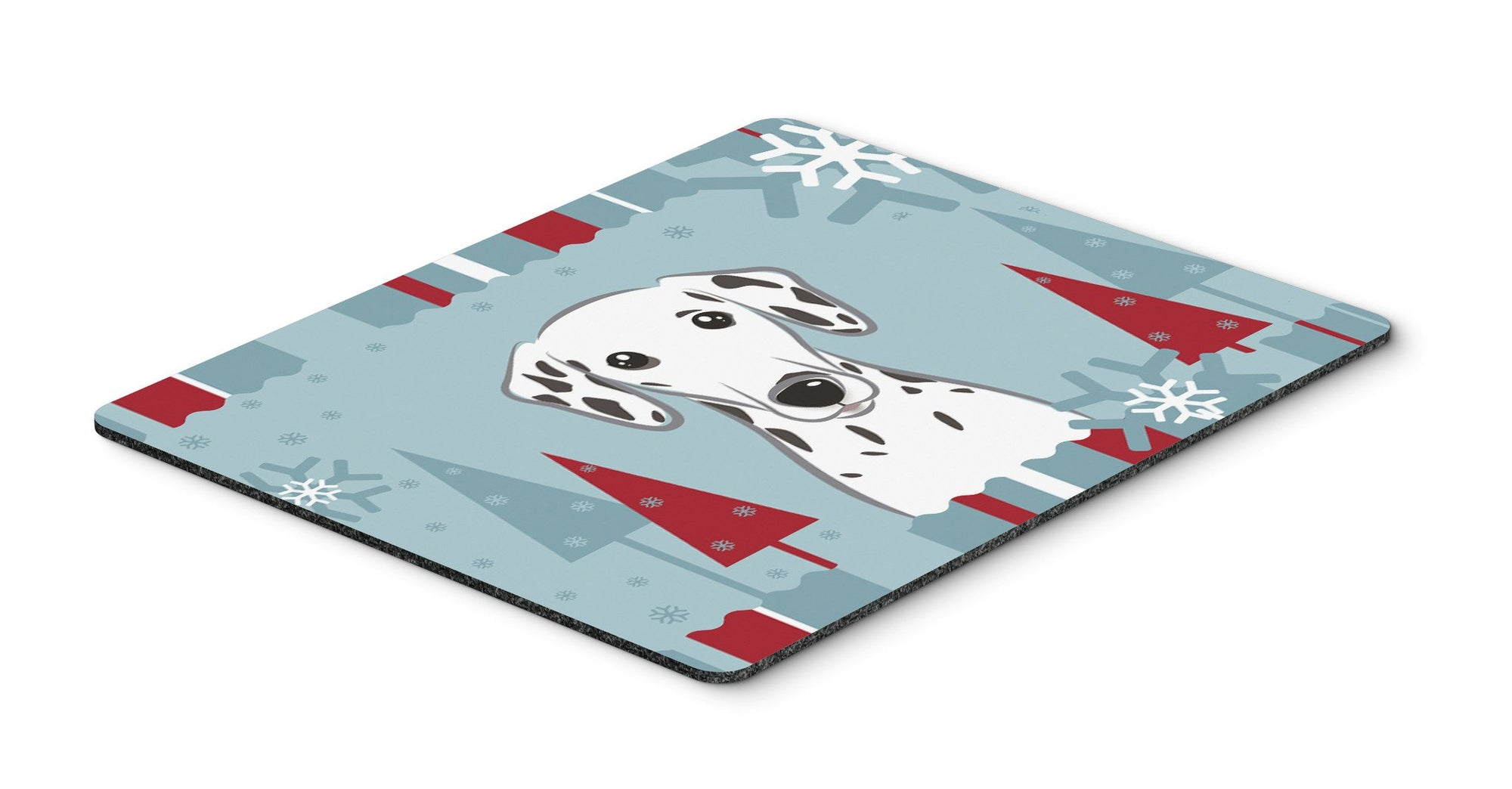 Winter Holiday Dalmatian Mouse Pad, Hot Pad or Trivet BB1706MP by Caroline's Treasures