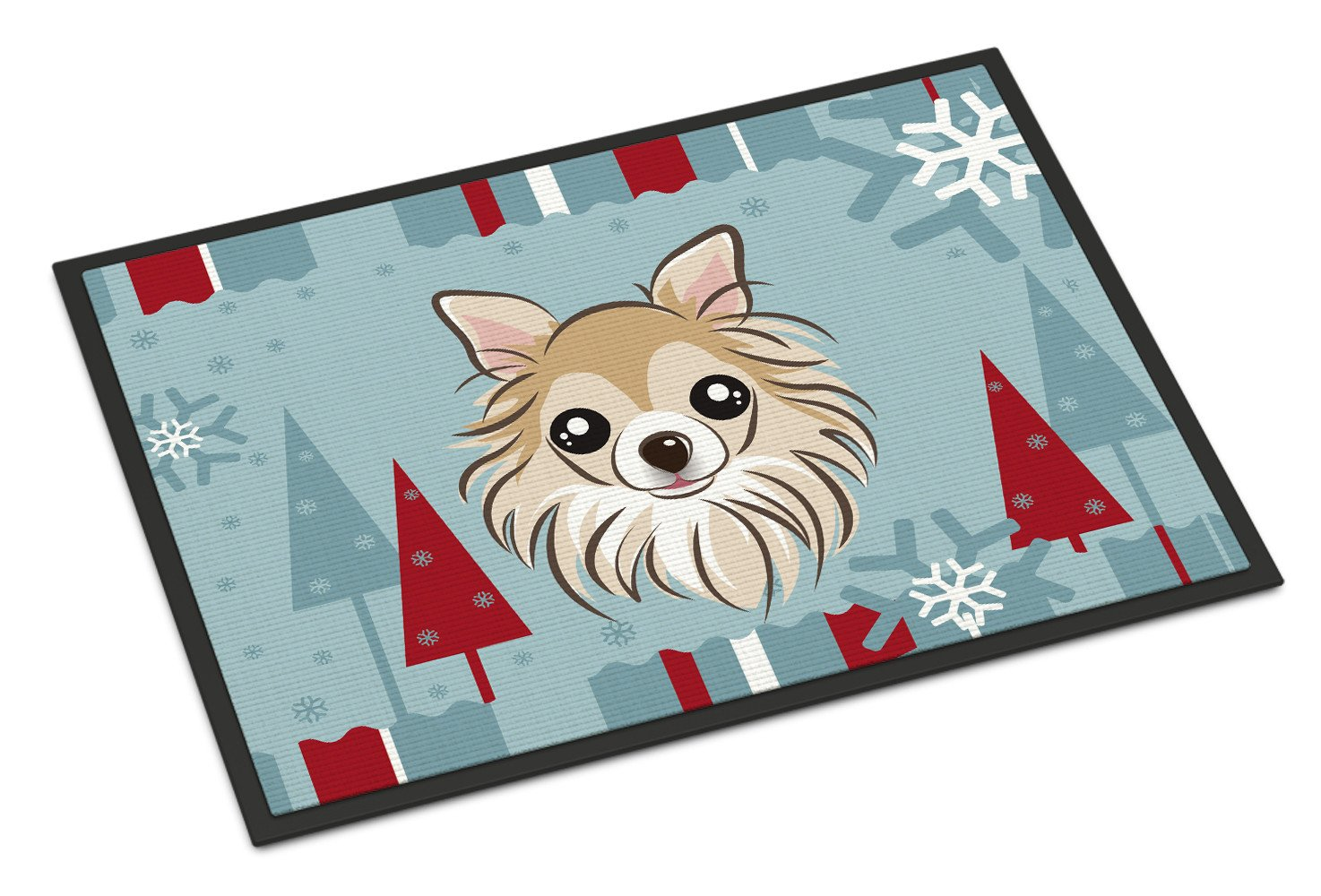 Winter Holiday Chihuahua Indoor or Outdoor Mat 18x27 BB1747MAT - the-store.com